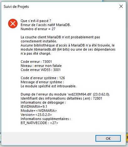 acces natif mysql pour windev 17